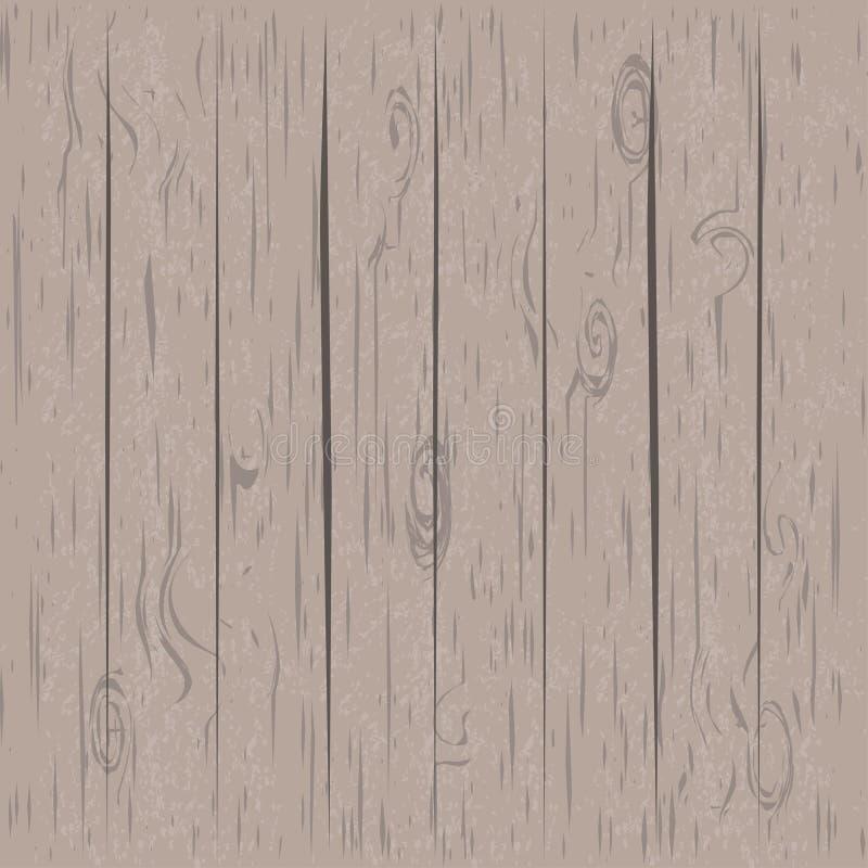 浅褐色的木背景 皇族释放例证
