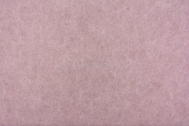 浅褐色的桑树纸纹理背景 老包装纸背景 免版税库存照片