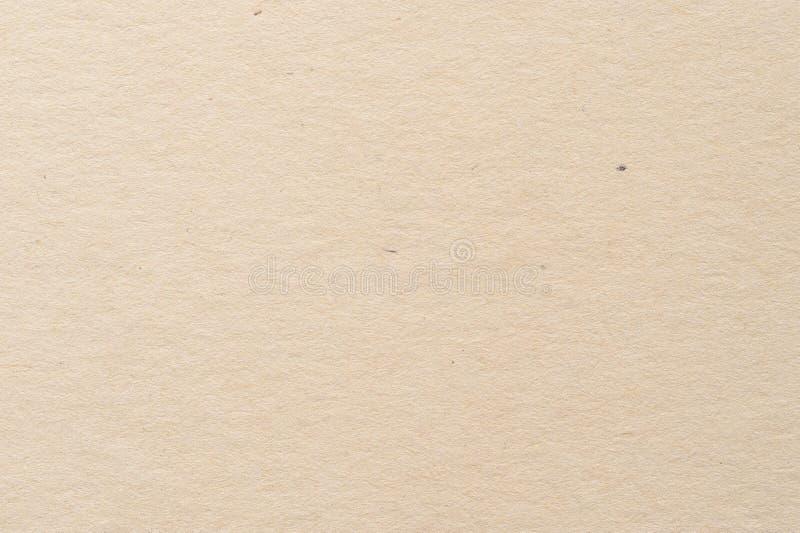 浅褐色的纸纹理纸板样式 免版税库存图片