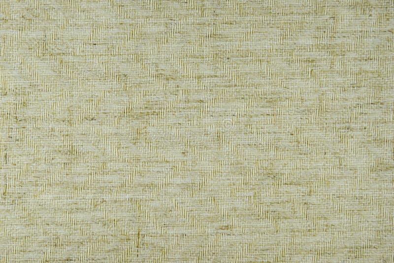 浅褐色的织品细节纹理 免版税库存照片