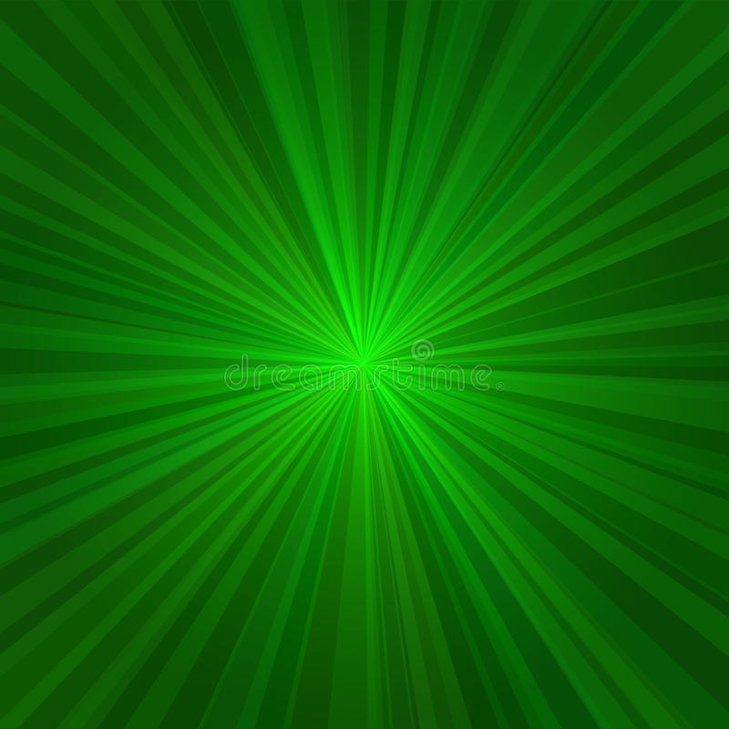 浅绿色的光芒抽象背景。传染媒介 皇族释放例证