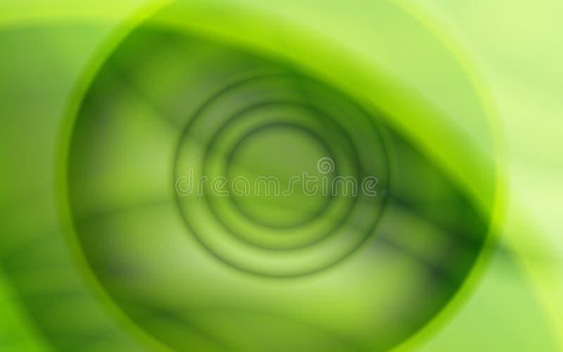 浅绿色的圈子摘要背景例证 皇族释放例证