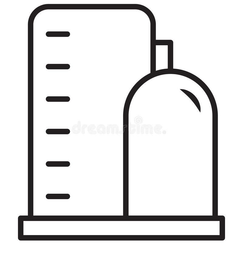 浇灌废物,锅炉可以容易地修改被隔绝的传染媒介象或编辑 皇族释放例证