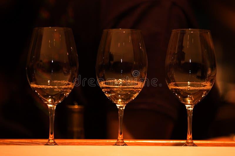 测试酒 免版税库存照片