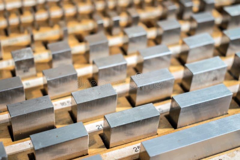 测量标准单位米长度的 标准长度 库存照片