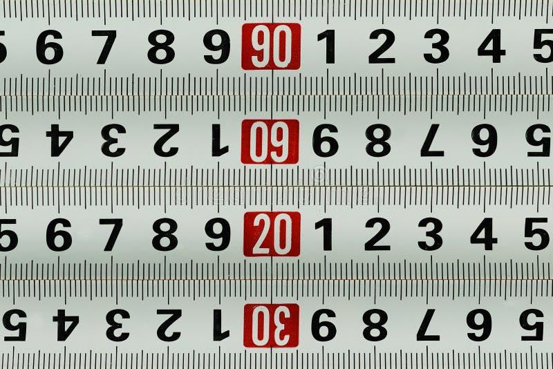 测量的米-样式背景 库存照片