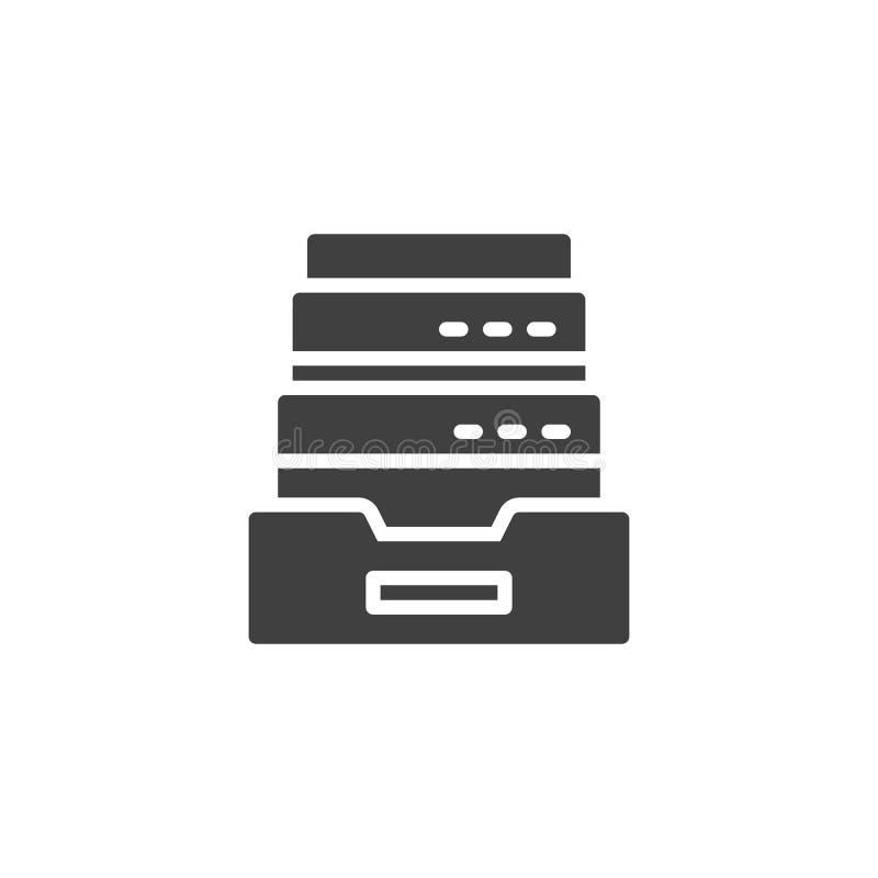 浏览器历史档案传染媒介象 向量例证