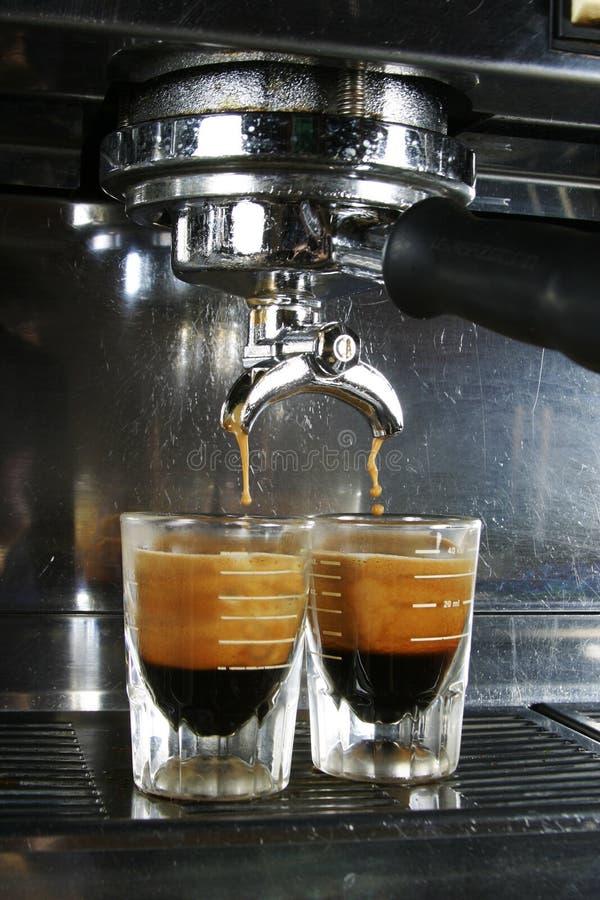 浓咖啡射击 免版税库存照片