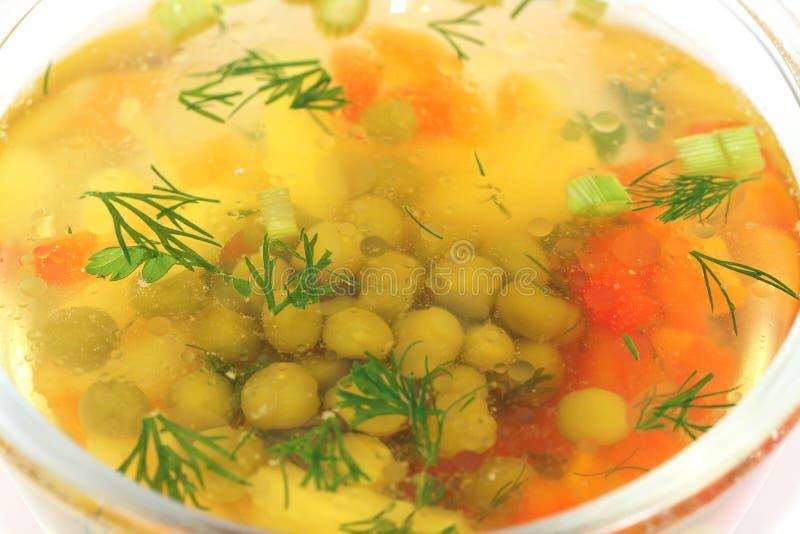 浓豌豆汤 免版税库存图片