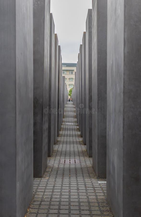浩劫纪念柏林 德国 库存照片