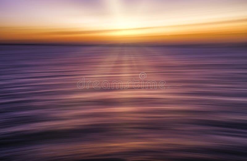 浪浪平静海洋 库存照片