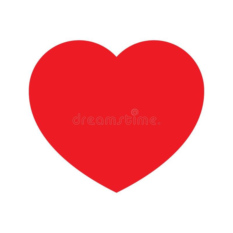 浪漫史的心脏商标 皇族释放例证