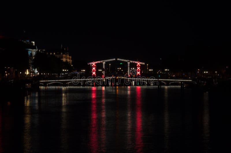 浪漫平衡的看法-阿姆斯特丹 库存图片