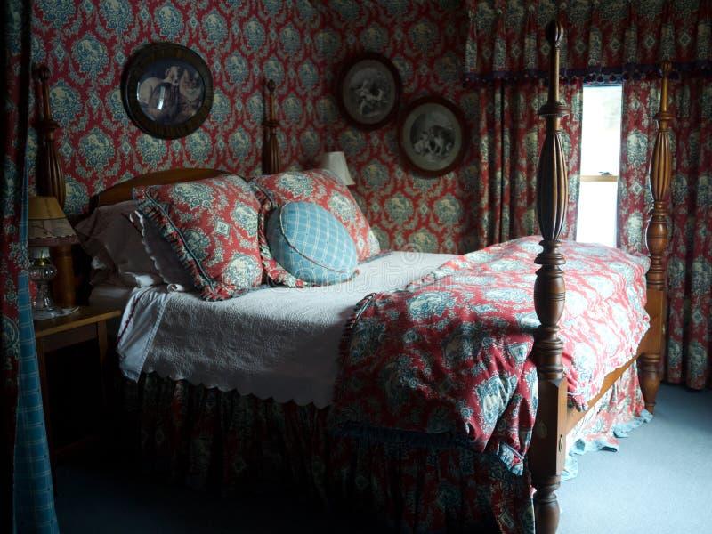 浪漫的卧室 库存图片
