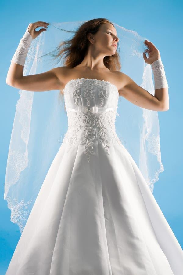 浪漫的新娘 库存照片