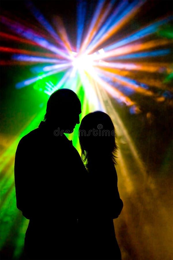 浪漫的舞蹈 免版税库存图片