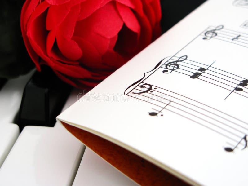 浪漫的音乐 库存照片