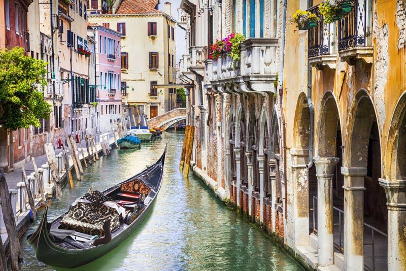 浪漫美丽的威尼斯 免版税库存图片