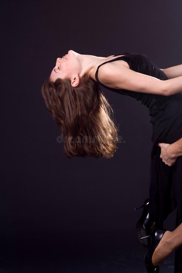 浪漫舞蹈 免版税库存照片