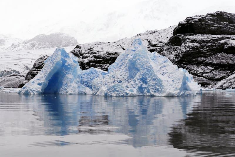 浮冰冰川冰 免版税图库摄影
