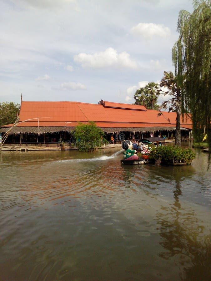 浮动的市场泰国 免版税图库摄影