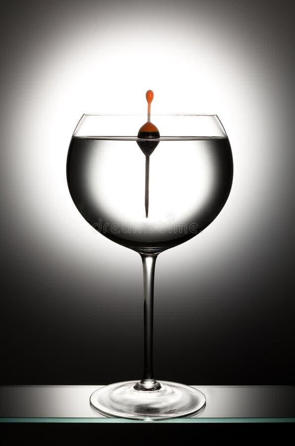 浮法玻璃 免版税库存图片