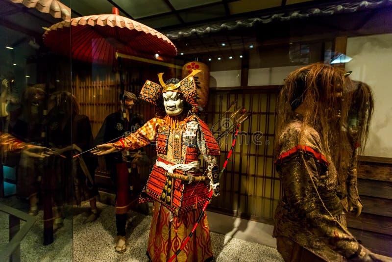 浮游物俱乐部Iga上野城堡日本 免版税库存图片