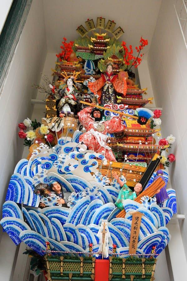 浮游物@ Kushida寺庙 免版税库存图片