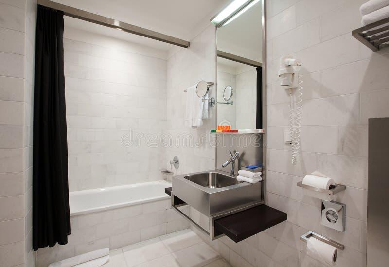 浴内部空间 库存图片