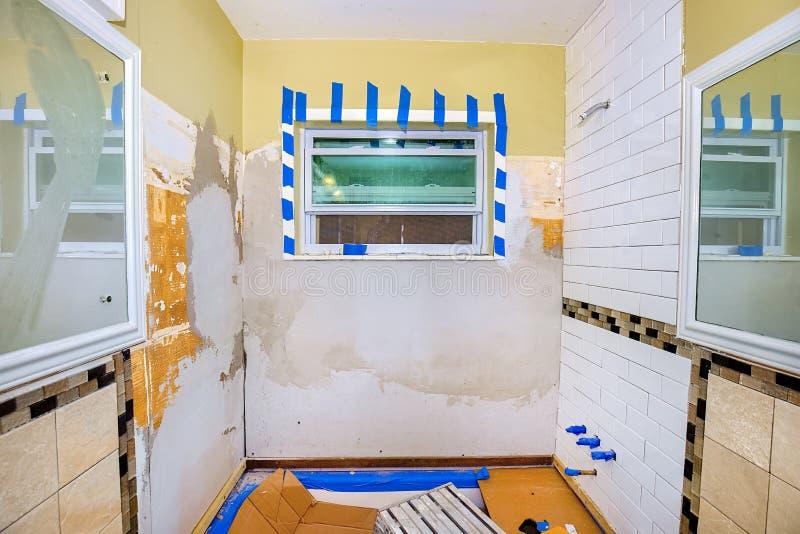 浴室装修 库存图片