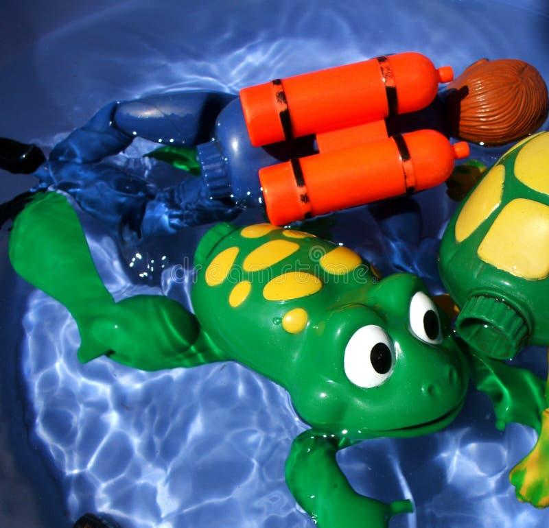 浴玩具 免版税图库摄影