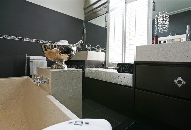 浴空间 免版税库存照片