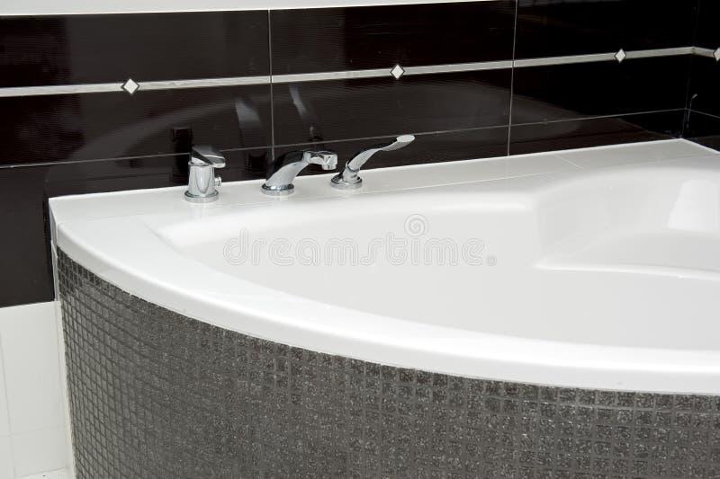 浴缸详细资料 免版税图库摄影