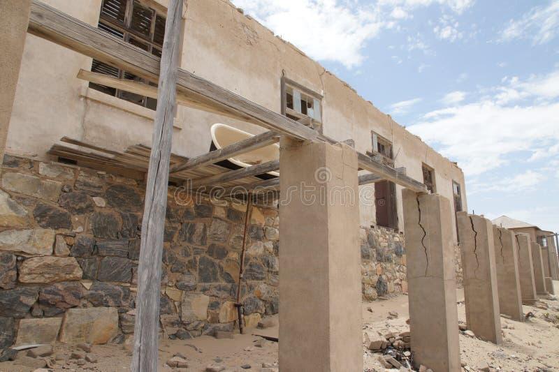 浴缸-纳米比亚鬼城 免版税库存图片