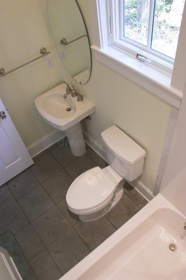 浴顶上的简单的视图 免版税库存图片