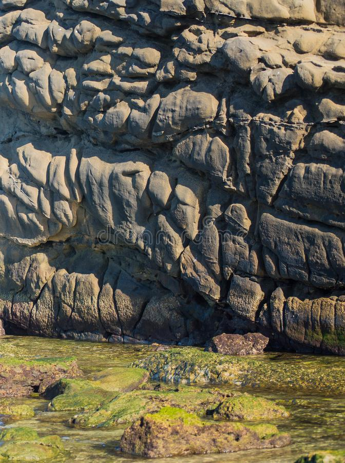 海佩带的岩石 库存图片