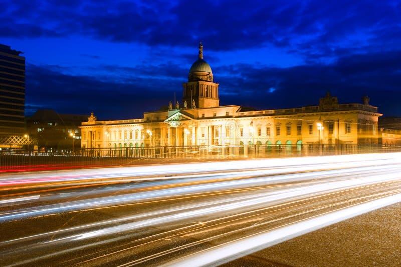 海关在都伯林,爱尔兰 免版税库存图片