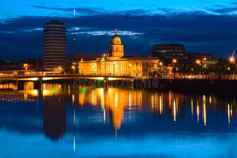海关在都伯林,爱尔兰 免版税库存照片