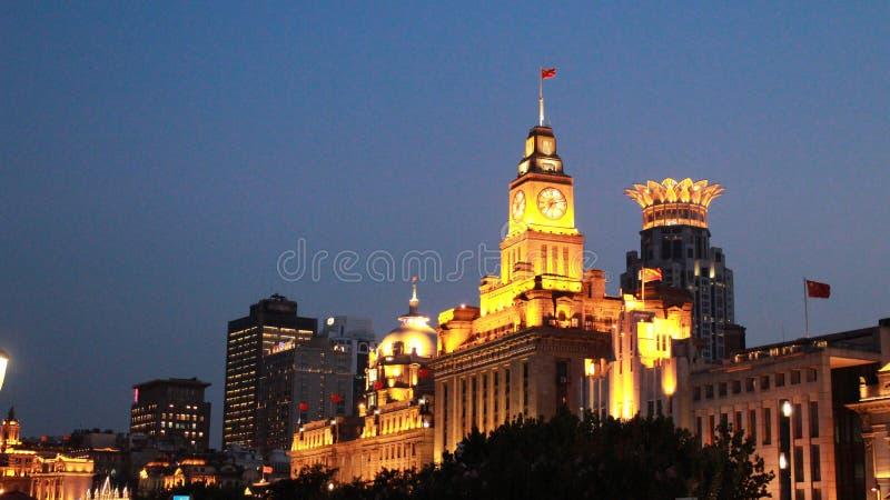 海关,上海 免版税图库摄影