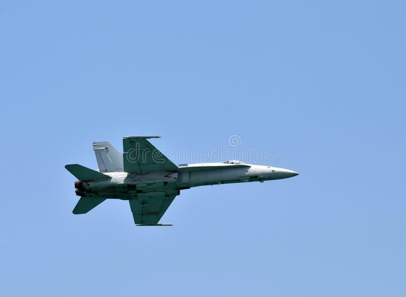 海军喷气式歼击机 库存图片