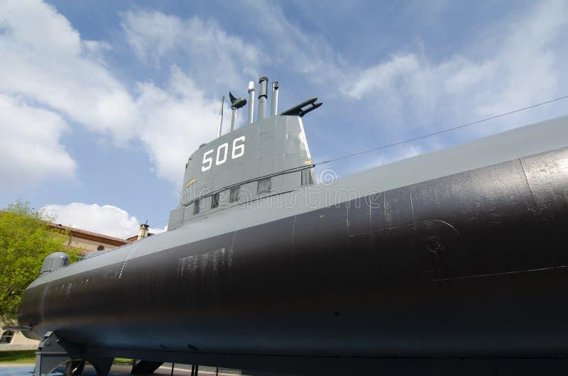 海军潜水艇 库存照片