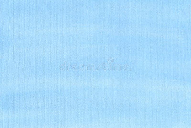 海军陆战队员或水军蓝色水彩梯度积土背景 水彩污点 与纸纹理的抽象被绘的模板 免版税库存图片