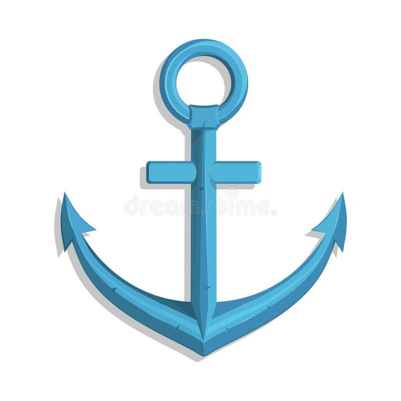 海军陆战队员的船锚 船` s船锚的例证 皇族释放例证