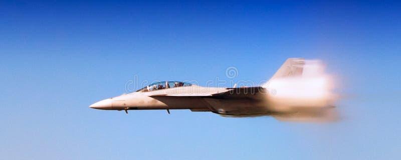 海军F-18超级大黄蜂 免版税库存照片