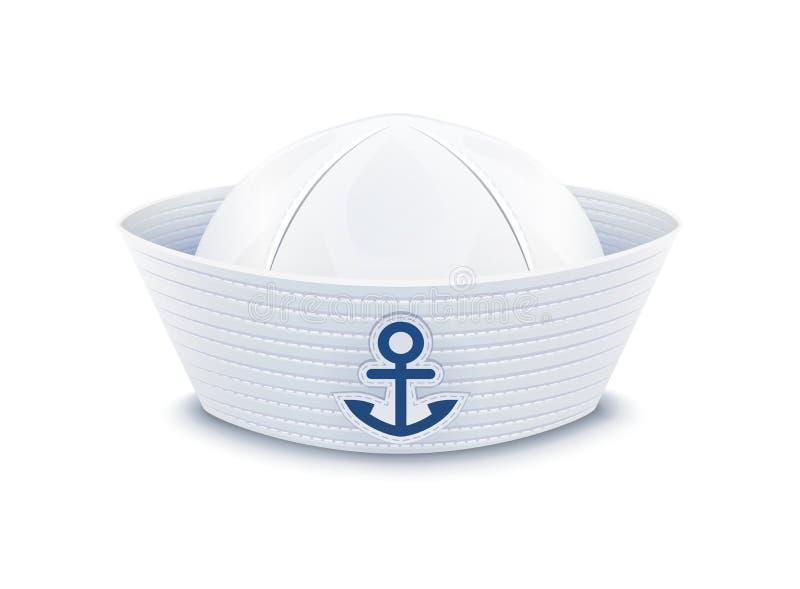 海员帽 向量例证