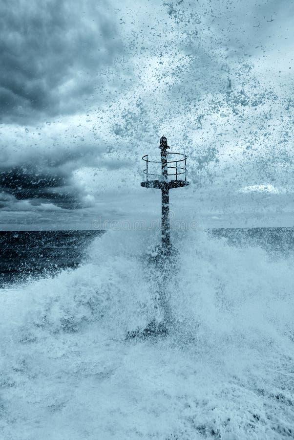 海啸 库存照片
