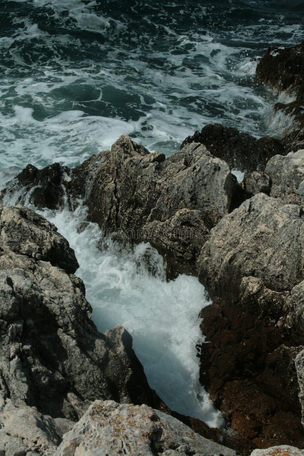 海在罗维尼 免版税库存照片