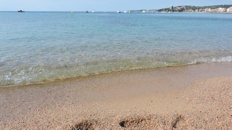 海在Sant安东尼 免版税库存照片