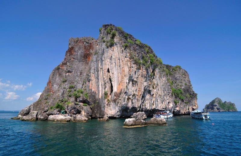 海在Trang 免版税库存图片