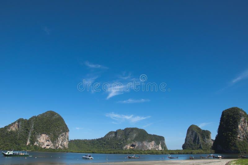 海在Trang 库存照片